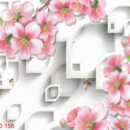 Tranh Hoa 3D Hiện Đại